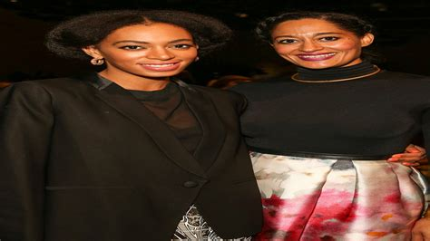 Tracee Ellis Ross Recreates Solange Knowles' 'A Seat At