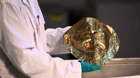 Mask of Agamemnon: Schliemann's Discovery - YouTube