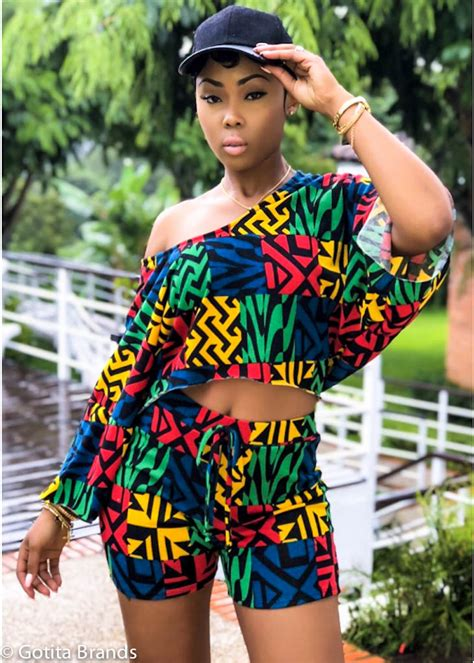 African Fashion - Trendy - Afro Beat Dance - Cute Outfit