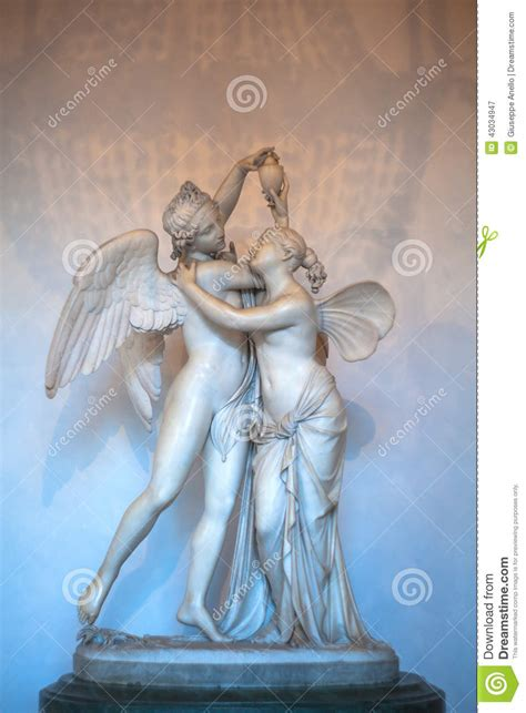Cupid And Psyche Stock Photo - Image: 43034947