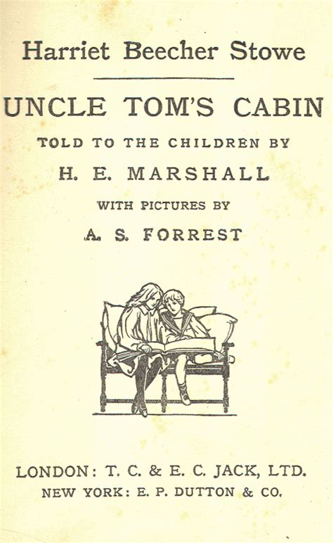 Heritage History   Uncle Tom's Cabin Told to the Children