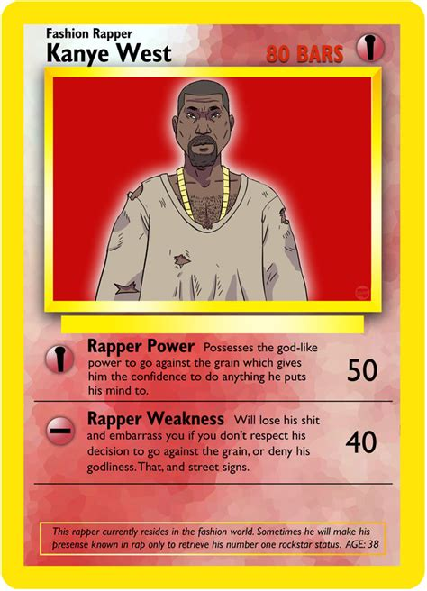 If Rappers Had Their Own Pokémon Cards