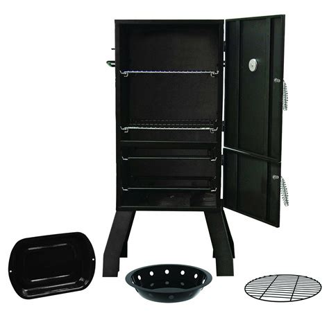 """40"""" Char-Broil Vertical Smoker w/ Insulated Door Charcoal"""