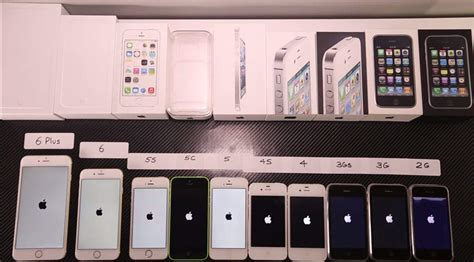 Watch every iPhone ever race each other in a speed-test