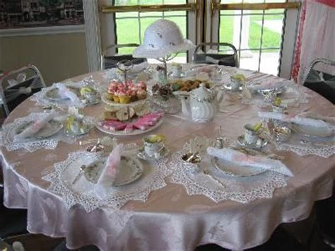 Tea Party & Table Setting information