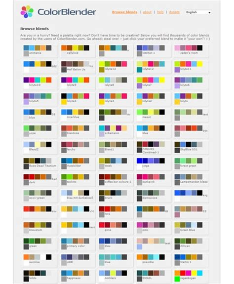 web babu: 15 Useful Color Mixers For Effective Designing