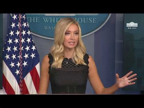 Kayleigh McEnany Holds a Press Briefing – Video   The Last