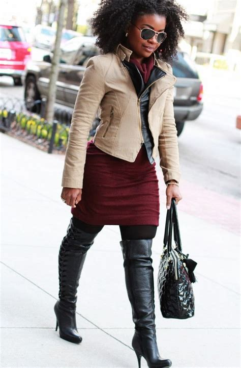 How to Wear Over-the-Knee & Long Boots 2020   FashionTasty