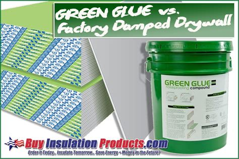 Green Glue Between Two Layers of Drywall vs