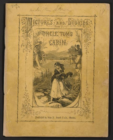 Pictures and stories from Uncle Tom's cabin