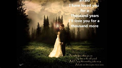 A Thousand Years, Pt