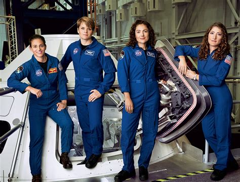 Would You Go to Mars? Meet the Four Women Astronauts Who