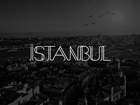 Istanbul Font on Behance