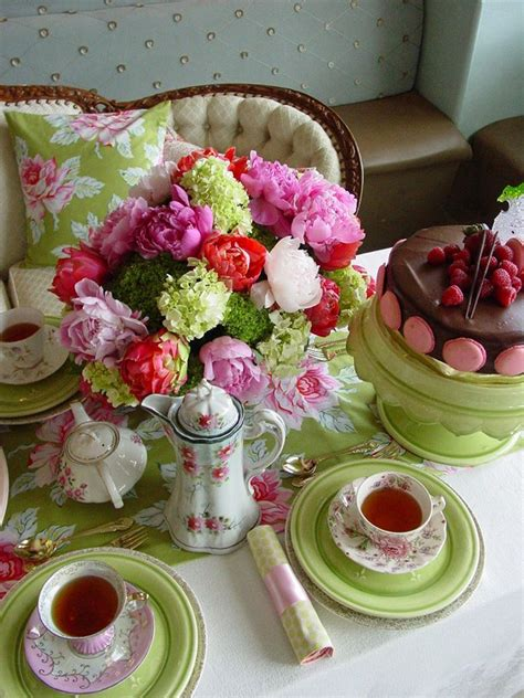 Gorgeous Spring Tea Party Pictures, Photos, and Images for