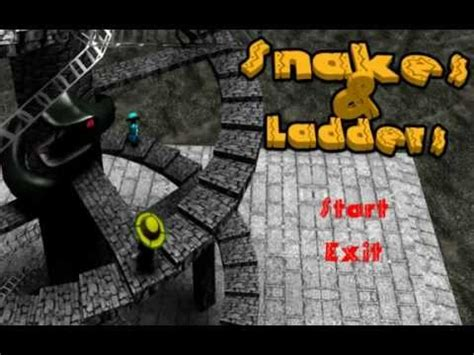 Snakes And Ladders 3D - YouTube