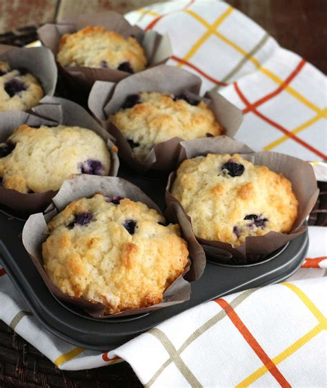 Whopper Lemon Blueberry Muffins - Eat In Eat Out