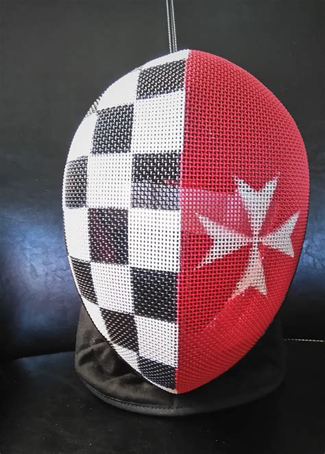 Sometime ago, someone showed how to paint a fencing mask