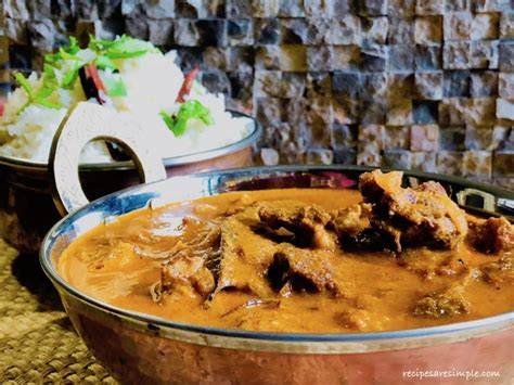 Madras Curry ( Madras Meat Curry ) - Recipes are Simple