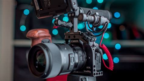 Canon M50 Pro Video Setup   Small Rig Cage and Accessories