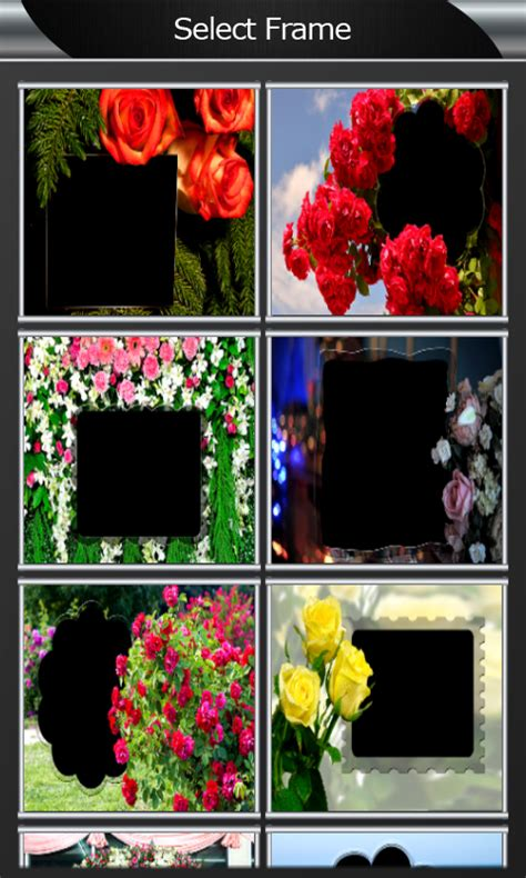 Free Rose Flower Photo Frames APK Download For Android