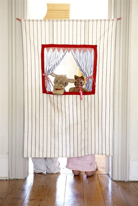 DIY Puppet Theater, Shadow Puppet Theater How To Make
