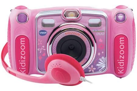 Appareil photo compact Vtech KIDIZOOM DUO ROSE   Darty