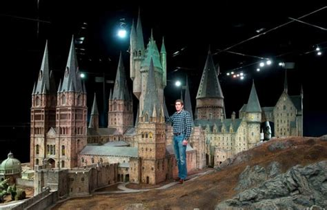 Incredibly Detailed Model of Hogwarts Castle Used for