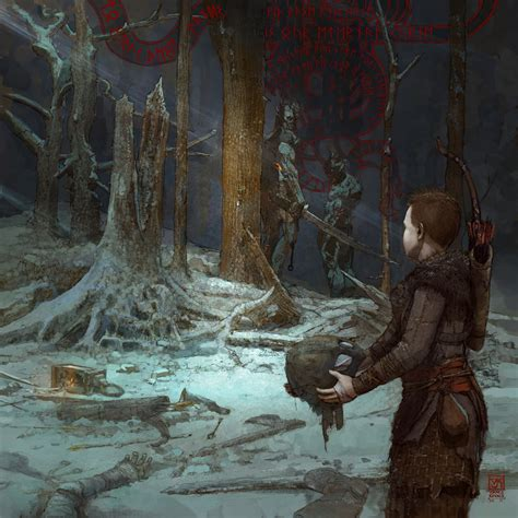 God of War PS4: Check Out These Gorgeous Artwork Unlocked
