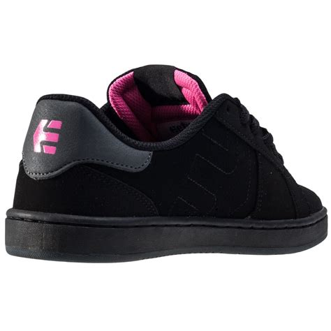 Etnies Fader Ls Womens Trainers in Black Pink