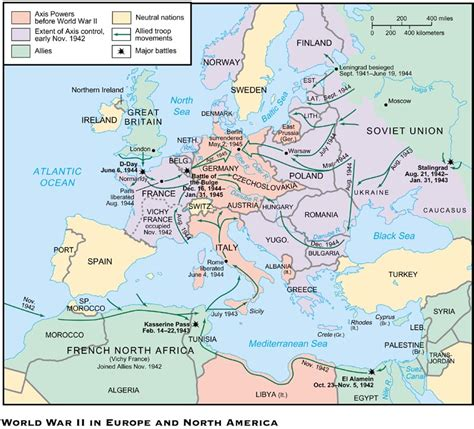 WWII - North Africa and Europe