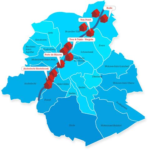 Real estate: the up-and-coming neighbourhoods of Brussels