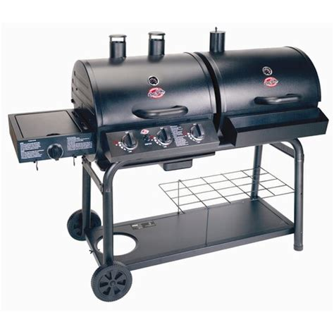Char-Griller Duo Combo Gas and Charcoal Grill | eBay