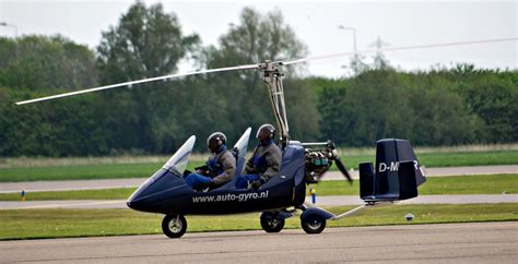 Auto Gyro MTO Sport (D- MRVR ) AT Lelystad Airport The Net