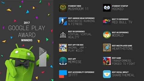 Google Play app of the year winners announced
