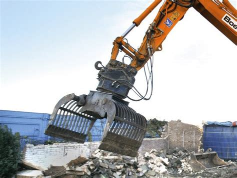 Sorting grapples - Attachments excavators - Earthmoving