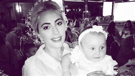 Lady Gaga Becomes Godmother to Childhood Friend's Baby