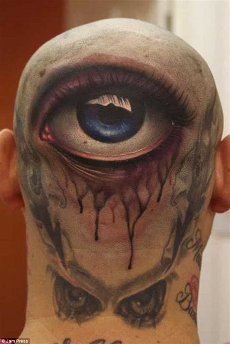18 Horrible Bald Head Tattoos That Are Better Off Covered