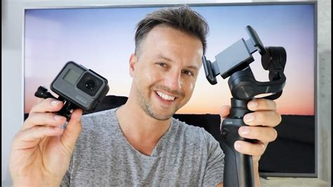 HOW TO use your DJI OSMO MOBILE with your GoPro Hero5