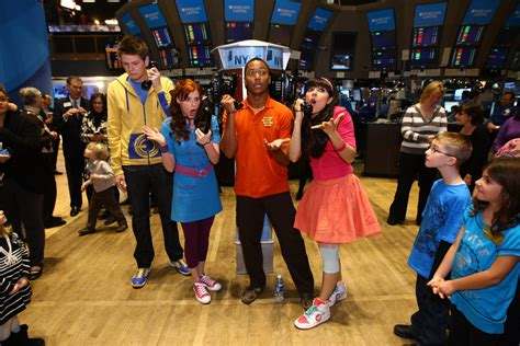 Nickelodeon's The Fresh Beat Band Ring The Opening Bell At