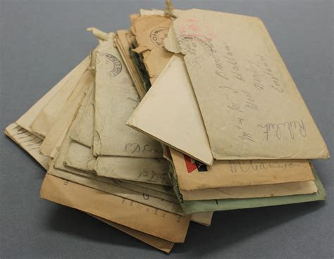 First World War Letters | Derbyshire Record Office