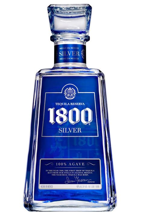 1800 Silver Tequila 1