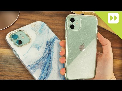 Mous Contour Leather Case Rood voor iPhone 11 Pro Max