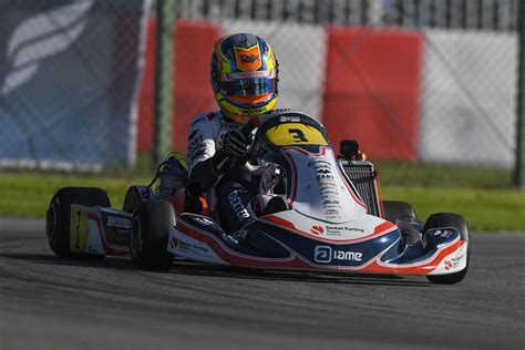 The Sauber Karting Team enters the Top 10 in Finland