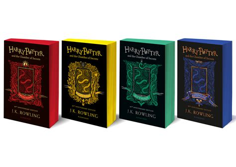 Bloomsbury release Chamber of Secrets house editions