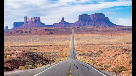 Forrest Gump Hill, Monument Valley, US Highway 163, USA