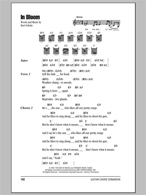 In Bloom   Sheet Music Direct
