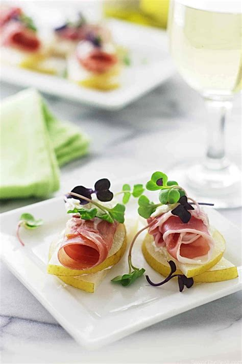 Asian Pear Prosciutto Appetizers - Savor the Best