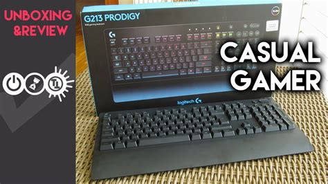 Logitech G213 Prodigy Review - Meeting Halfway - YouTube
