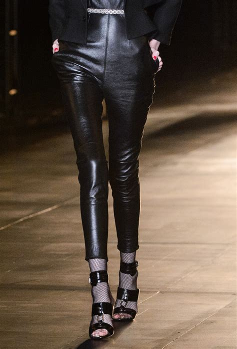 Real and Faux Leather Pants | InStyle