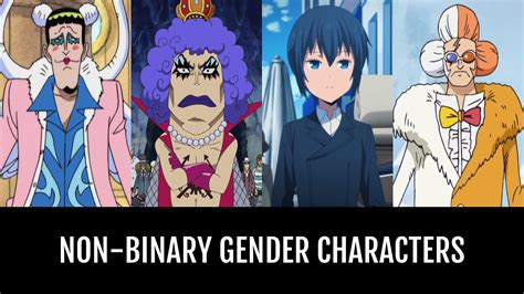 Best Non-Binary Gender Characters | Anime-Planet